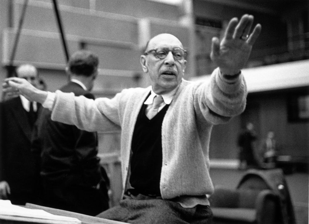 Stravinsky Conducts